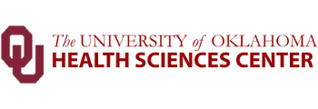 Logo for the University of Oklahoma Health Sciences Center